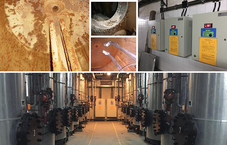 Cómo eliminar la corrosión y el sarro de los tanques y cañerías?