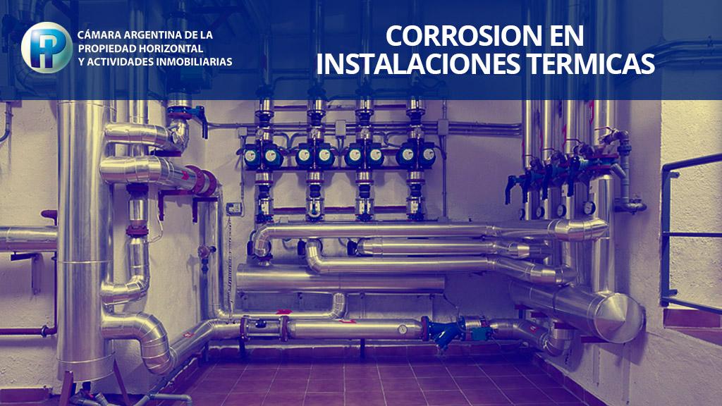 Webinar sobre corrosión en instalaciones térmicas